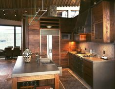 studio barn, industrial kitchens, rustic kitchens, dream hous, rustic meets industrial, uniqu idea, kitchen ideas, dream kitchens, studio frank