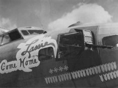 Come Home Lassie, a Fortress of the Bomb Group United States Army, Nose Art, Military Aircraft, Wwii, Monster Trucks, History, Helicopters, Airplanes, Nostalgia