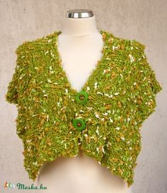 """Tavaszi rét"" vállravaló (kepibag) - Meska.hu Knitting, Blouse, Tops, Women, Fashion, Moda, Tricot, Fashion Styles, Breien"