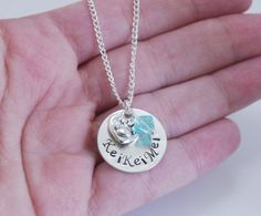 Personalized Dog Lover Gift Necklace, Pet Lover Jewelry, Dog Lover Necklace, Cat Lover Necklace, Pet Name Necklace, Heart and Paw Necklace