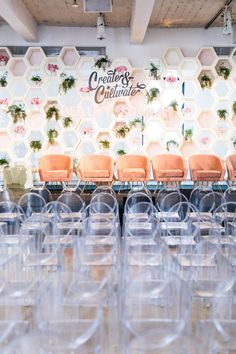 Girlboss Events A modern and feminine back drop that is sure to drive in an audience! Event Branding, Corporate Event Design, Event Signage, Backdrop Design, Decoration Design, Backdrop Event, Drive In, Corporative Events, Bühnen Design
