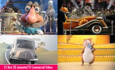 25 Best 3D Animated TV Commercial Videos - TVC. Read full article: http://webneel.com/25-best-3d-animated-tv-commercial-videos-tvc | more http://webneel.com/advertisements | Follow us www.pinterest.com/webneel