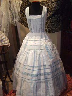Vestidos Vintage, Vintage Dresses, Heirloom Sewing, Vintage Lingerie, Rock, Victorian Fashion, Baby Dress, Apron, Girl Outfits