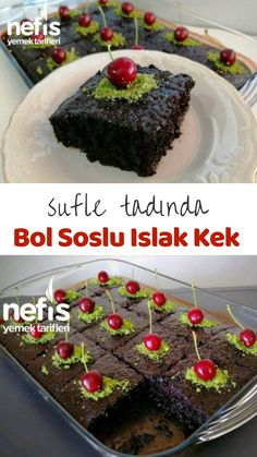 Wet Cake with Souffle Sauce in Delicious Souffle - Yummy Recipes - Dinner Recipe Best Cake Recipes, Dessert Recipes, Dinner Recipes, Desserts, Subway Cookie Recipes, Saffron Cake, Cake Decorating Videos, Turkish Recipes, Yummy Food