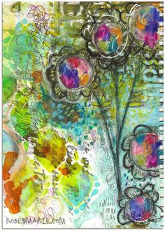 """Every Life Has a Story!"" - {Roben-Marie Smith} - Art journal love..."