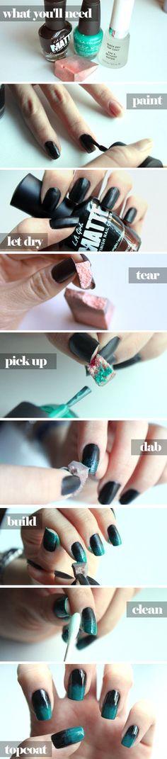 Ombre Nails Manicure   Manicure Tutorials