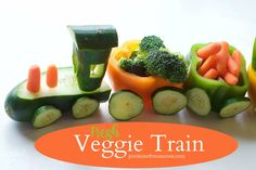 fresh veggie train