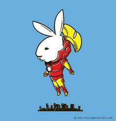 Iron bunny