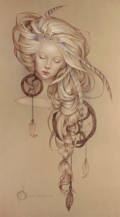 Beautiful Pencil Portraits by Jennifer Healy