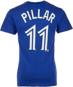 1c5c6ae9f70 Majestic Men s Kevin Pillar Toronto Blue Jays Official Player T-Shirt Kevin  Pillar