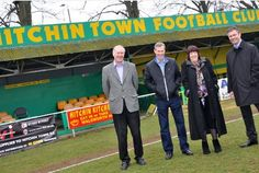 The battle to save a football club's home from destruction is over – but the fight to bring the ground up to standard is just beginning.  Hitchin Town FC are launching a crowd-funding campaign...