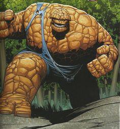 The Thing Fantastic Four   Wonderman vs Thing (rd pst) - Battles - Comic Vine