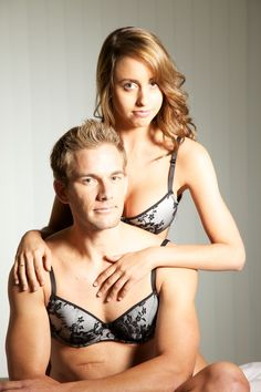 A website that sells lingerie designed for men. This is great.