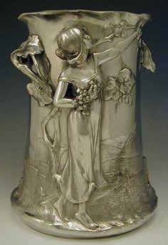 Seau à champagne - Art nouveau 1906.