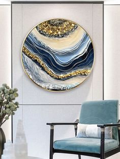 Resin Wall Art, Epoxy Resin Art, Diy Resin Art, Framed Wall Art, Resin Crafts, Frames On Wall, Stone Art Painting, Painting Frames, Pour Painting