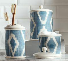 Ikat Bath Accessories | Pottery Barn