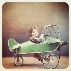 Oh... baby/ biplane love