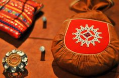 the jewellery and the different accessories that the Sami women had adorned over the years.