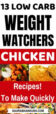13 Weight Watchers Chicken Recipes with SmartPoints – Easy WW Chicken Freestyle Points - SaurabhAnkush - YES! My Weight Watchers Chicken Recipes with SmartPoints. These Easy Weight watchers Chicken Re - Poulet Weight Watchers, Plats Weight Watchers, Weight Watchers Diet, Weight Watchers Chicken, Healthy Pizza Recipes, Ww Recipes, Cooking Recipes, Free Recipes, Dinner Recipes