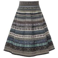 """Now online available - the ribbon skirt """"everyday"""" in blue shades by Lena Hoschek! Traditional Jacket, Traditional Dresses, Dirndl Blouse, Ribbon Skirts, Working Man, Rock, Band, Couture Dresses, Sewing Clothes"""