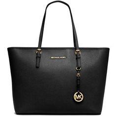 c2b625f9bfd8 MICHAEL Michael Kors Jet Set Saffiano Travel Tote Bag Micheal Kors Taschen,  Travel Handbags,