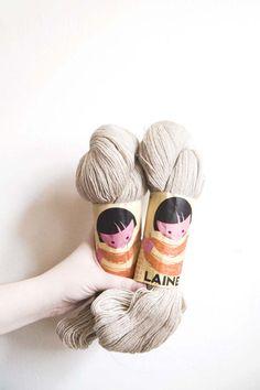 pretty yarn labels <3