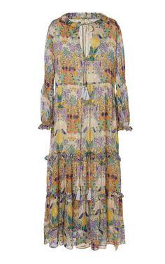 Herrera Maxi Dress by Andres Otalora | Moda Operandi Taffeta Dress, Silk Taffeta, Dress Outfits, Dresses, Silk Satin, Daily Fashion, Cold Shoulder Dress, Women Wear, Style Inspiration
