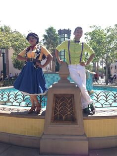 1950s inspired Dapper Day Woody and Buzz Disneybound. #DapperDay2014