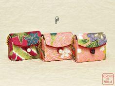 Kawaii ! A Kimono BAG 1/6 size dolls,Pink2,Blythe,Momoko,Barbie, KIMONOnoMIRAI #KIMONOnoMIRAI