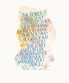 """""""The Lord Bless You"""" - St. John's Bible"""