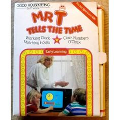 Mr. T tells the time (Good Housekeeping Software) ZX Spectrum