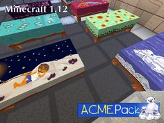 Tumble brewed up some delightful designs to rest your weary block-head on. Sleep on it! Picnic Blanket, Outdoor Blanket, Block Head, Minecraft 1, Packing, Kids Rugs, Beds, Sleep, Design
