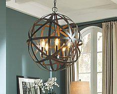 Cade Pendant Light Ashley Furniture $212.49