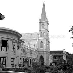 CONVENT OF THE HOLY INFANT JESUS, SINGAPORE - 1956.   THE LIBYAN Esther Kofod www.estherkofod.com