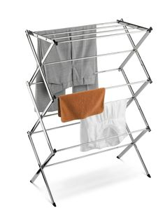 Folding Clothes Drying Rack, Laundry Drying Rack for Clothes Rack, Gray. Surface is mildew-proof and rust-resistant clothes rack cloth drying stand, Foldout clothes drying rack to save energy and help clothes last longer. Laundry Hanger, Drying Rack Laundry, Laundry Dryer, Clothes Drying Racks, Clothes Dryer, Laundry Storage, Laundry Tips, Folding Laundry, Laundry Rooms