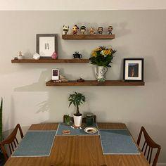 J Thomas, Rustic Shelves, White Oak, Floating Shelves, Solid Wood, Sweet Home, Modern, Kitchen, Style