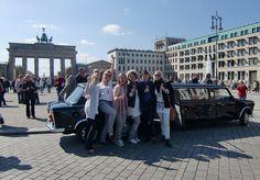 JGiA und JGA Partys mit den XXL Trabis in Berlin. Ein 5* Erlebnis!  Stretch-Trabi mieten Berlin