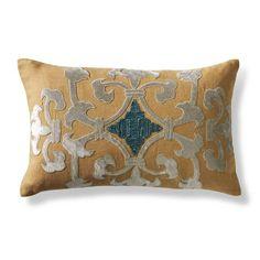 Livia Soutache Decorative Pillow - Frontgate