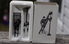 "Dept 56 ""Lamplighter Accessory Set"" Heritage Village Collection"