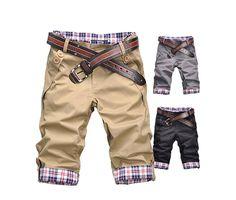 как сшить Укороченные брюки для мальчика
