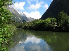 Milford Track - If you like hiking, visit the famous Milford Track in New Zealand.