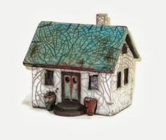 Nordic Thoughts: 'Raku' houses by Hanne Helms