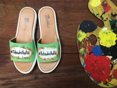 15 Quirky Bridal Footwear Options for the Bridechillas Out There! Bridal Flats, Bridal Footwear, Bridal Looks, Bridal Style, Butterfly Heels, Wedding Mandap, Wedding Planning Websites, Metallic Shoes, Comfortable Sneakers