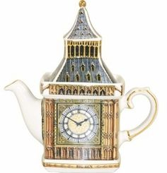 Collectible teapot from James Sadler  Monument shape, 2 cup teapot  8