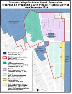 Greenwich Village South Village Historic District