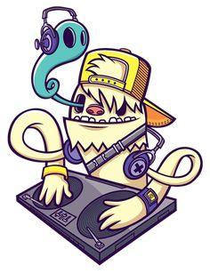 Yeti DJ ID by cronobreaker.deviantart.com on @deviantART