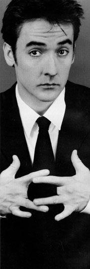 "John Cusack. He's cute in a the ""I-wear-guyliner"" kinda way."