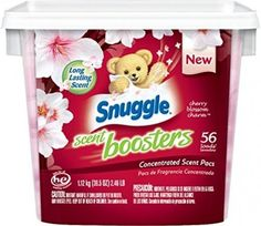 Snuggle Laundry Scent Boosters Tub, Cherry Blossom Charm, 56 Count | eBay