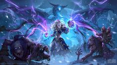 ArtStation - Knights of the Frozen Thrones Hearthstone Cinematic, Will Murai