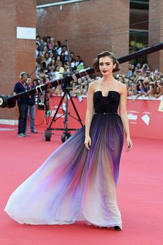 Why These It Girls Are Much More Than Just Pretty Faces | The Zoe Report  Lily Collins.... father Phil collins